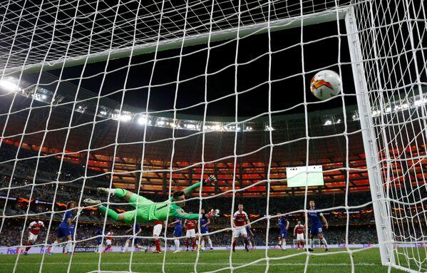 Финал Лиги Европы: Челси - Арсенал. Первый гол в воротах Челси, Бакинский олимпийский стадион, Баку, Азербайджан - Sputnik Азербайджан