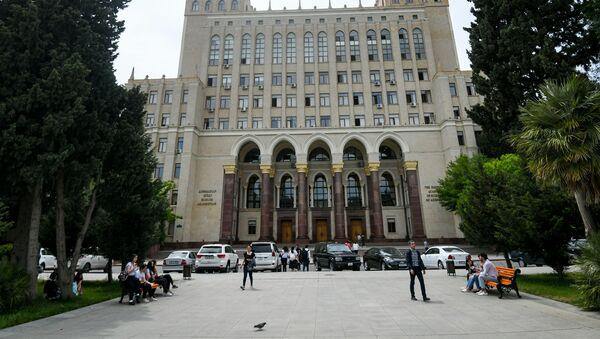 Здание Национальной Академии Наук Азербайджана в Баку - Sputnik Азербайджан