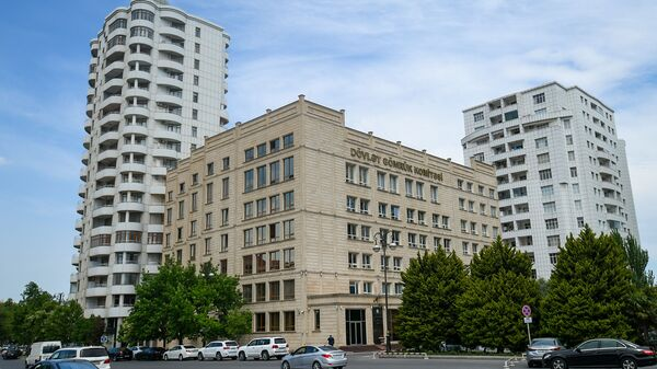 Здание Государственного Таможенного Комитета в Баку - Sputnik Азербайджан