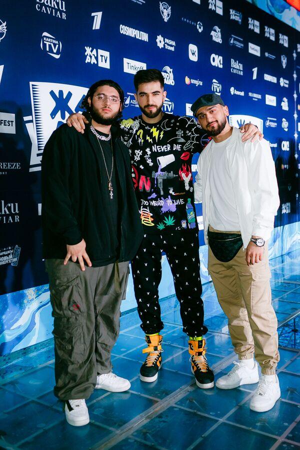ANDRO, EL'MAN и JONY на pre-party международного музыкального фестиваля Жара-2019 - Sputnik Азербайджан