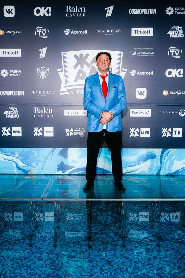 Григорий Лепс на pre-party международного музыкального фестиваля Жара-2019 - Sputnik Азербайджан