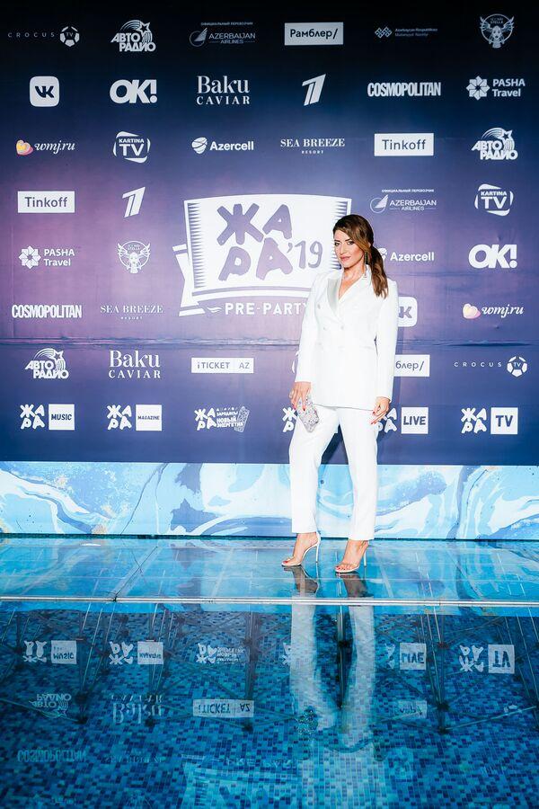 Жасмин на pre-party международного музыкального фестиваля Жара-2019 - Sputnik Азербайджан