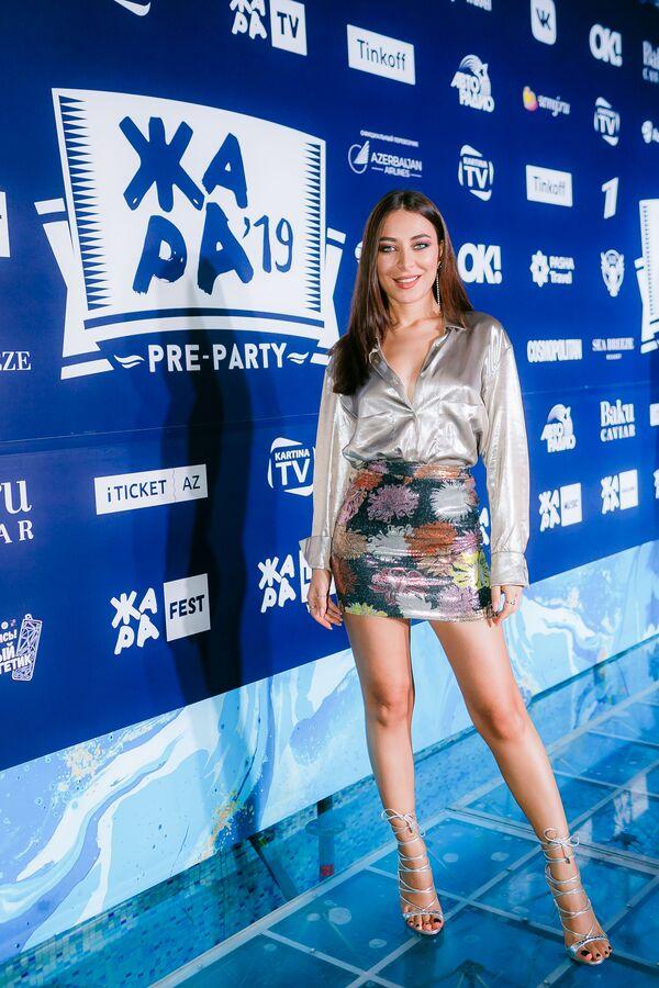 Элина Чага на pre-party международного музыкального фестиваля Жара-2019 - Sputnik Азербайджан
