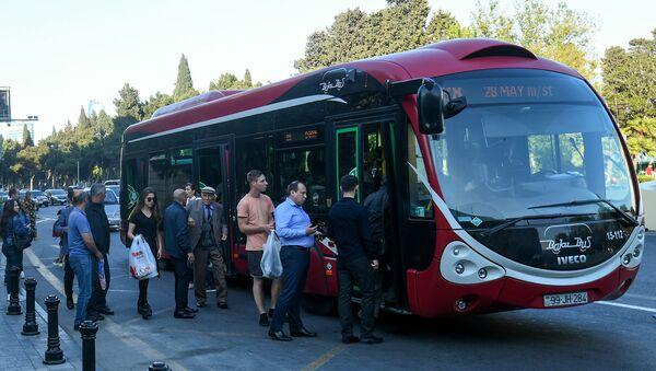 Автобус ООО BakuBus - Sputnik Azərbaycan