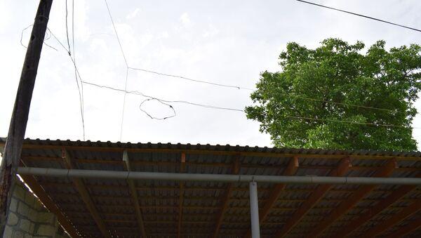 Состояние электрофикации в селе Дигях Губинского района - Sputnik Азербайджан
