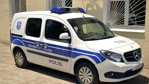 Автомобиль дежурной части полиции, фото из архива - Sputnik Азербайджан