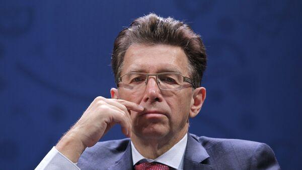 Исполнительный директор Союза европейских футбольных ассоциаций Мартин Каллен - Sputnik Азербайджан