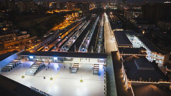 Бакинский железнодорожный вокзал - Sputnik Азербайджан