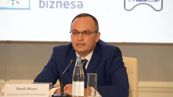 Президент Федерации киберспорта Азербайджана Рамиль Алиев - Sputnik Азербайджан