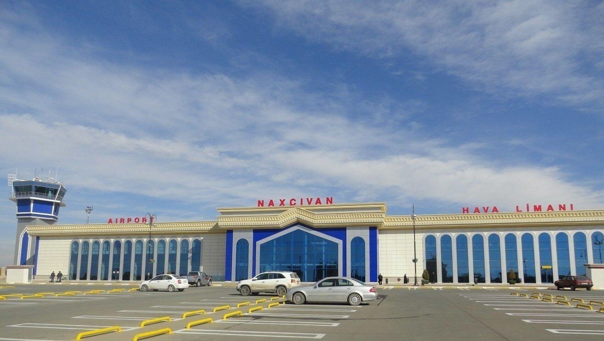 Нахчыванский аэропорт, фото из архива - Sputnik Азербайджан, 1920, 23.06.2021