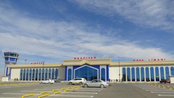 Нахчыванский аэропорт, фото из архива - Sputnik Азербайджан
