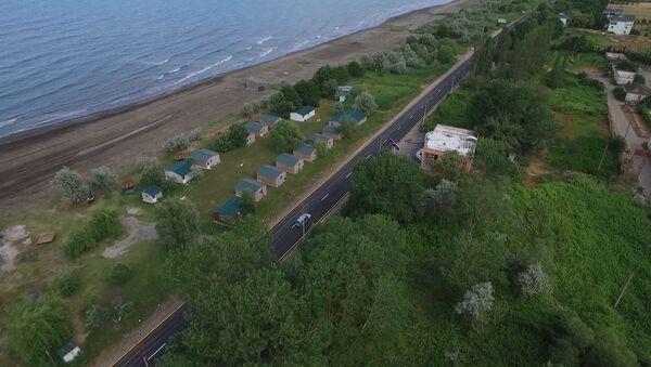 Гяндоб-Хачмаз-Ялама-государственная граница с Российской Федерацией - Sputnik Азербайджан