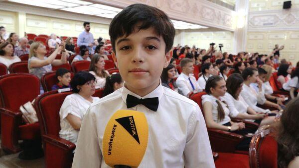 Я помню чудное мгновенье: итоги Пушкинианы подвели в Баку - Sputnik Азербайджан