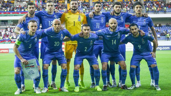 Сборная Азербайджана по футболу потерпела первое разгромное поражение в отборочном цикле чемпионата Европы по футболу 2020 года - Sputnik Азербайджан