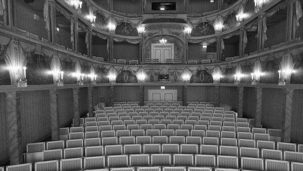 Театральный зал - Sputnik Азербайджан