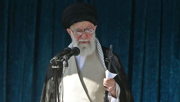 İranın ali dini lideri Əli Xamenei - Sputnik Azərbaycan