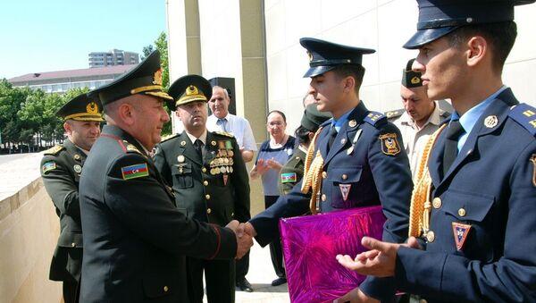Состоялся очередной выпуск выпускников Военного лицея имени Джамшида Нахчыванского - Sputnik Азербайджан