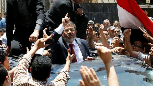 Бывший Президент Египта Мухаммед Мурси - Sputnik Azərbaycan
