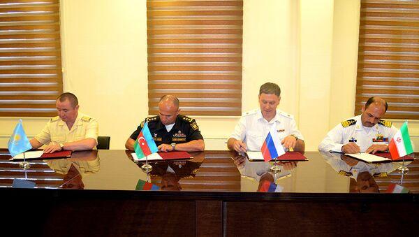 В Баку подписан документ по Кубку моря АрМИ-2019 - Sputnik Азербайджан