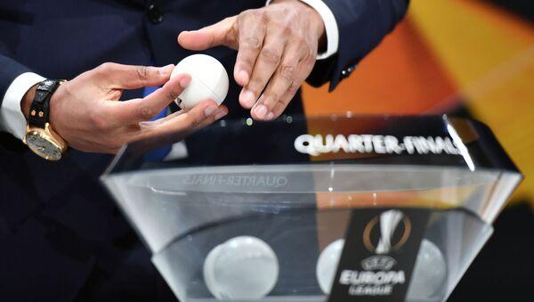 Жеребьевка Лиги Европы УЕФА - Sputnik Азербайджан