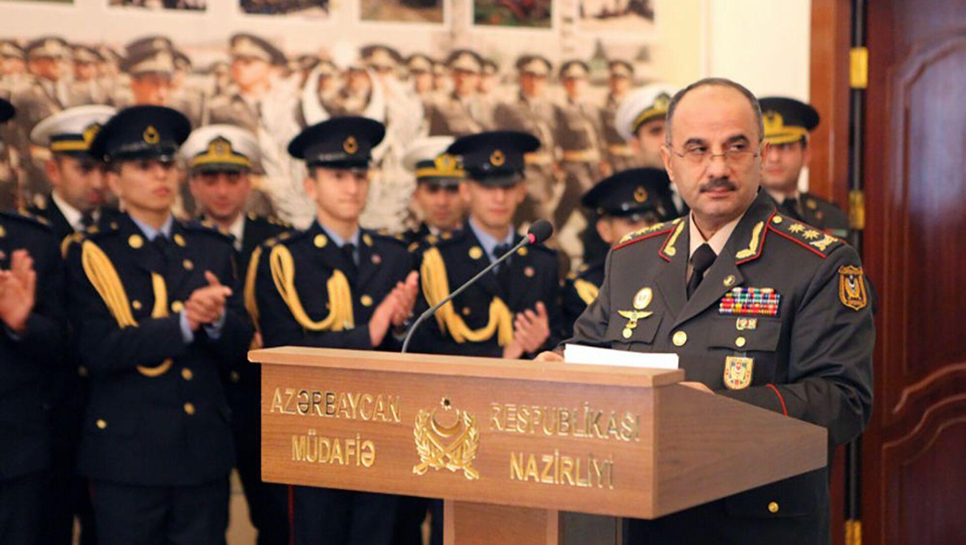 General-leytenant Nizam Osmanov - Sputnik Азербайджан, 1920, 23.08.2021