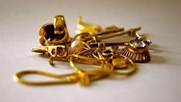 Золото, фото из архива - Sputnik Азербайджан