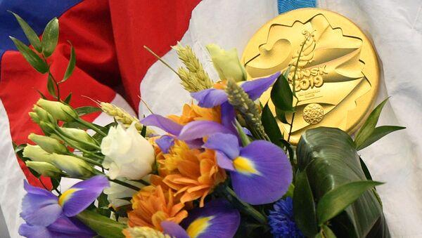 Золотая медаль на II Европейских играх в Минске - Sputnik Азербайджан