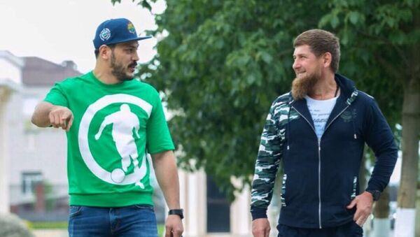 Забит Самедов и Рамзан Кадыров - Sputnik Азербайджан