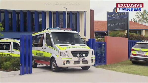 Машина скорой помощи в Австралии - Sputnik Азербайджан