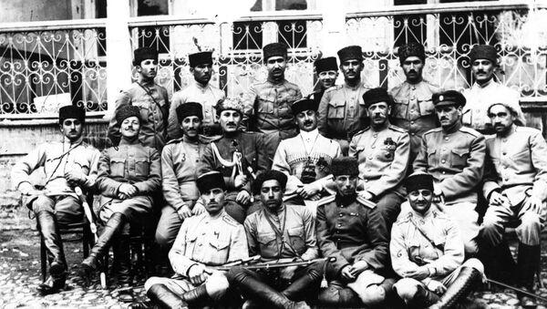 Национальная Армия Азербайджана в 1918-1920 гг. - Sputnik Азербайджан