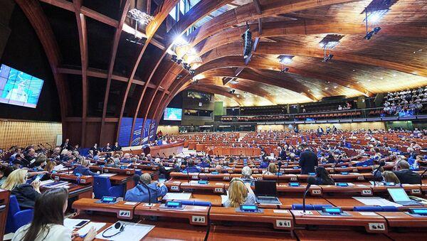 Летняя сессия Парламентской ассамблеи Совета Европы - Sputnik Азербайджан