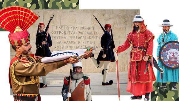 Самая удивительная военная форма со всей планеты - Sputnik Азербайджан