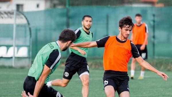 Тренировка футбольного клуба Сабаил - Sputnik Азербайджан