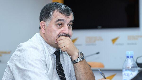 Военный эксперт Узеир Джафаров - Sputnik Азербайджан