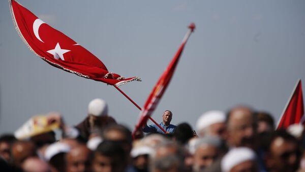 Флаг Турции, фото из архива - Sputnik Азербайджан