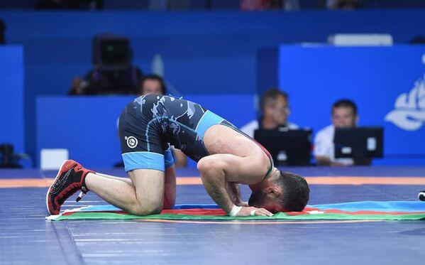 Азербайджанский борец вольного стиля Гаджи Алиев - Sputnik Азербайджан