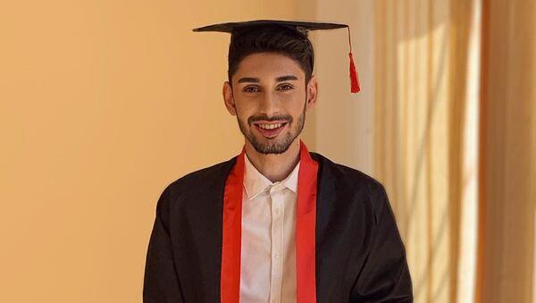 Азербайджанский певец, президентский стипендиат Эмин Эминзаде - Sputnik Азербайджан