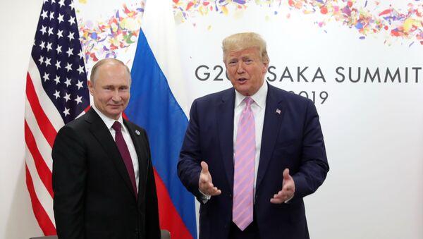 Рабочий визит президента РФ В. Путина в Японию для участия в саммите Группы двадцати - Sputnik Азербайджан