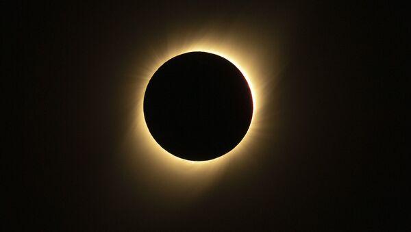 Солнечное затмение, фото из архива - Sputnik Азербайджан