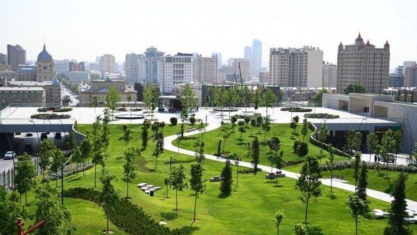 Центральный парк Баку, фото из архива - Sputnik Азербайджан
