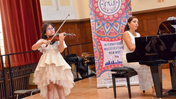Участники проекта Филармонии с успехом выступили в Германии - Sputnik Азербайджан