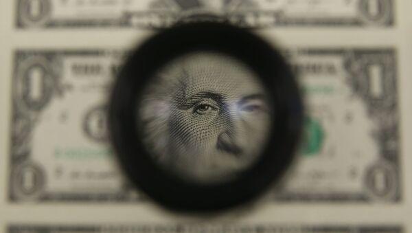 Dollar, arxiv şəkli - Sputnik Азербайджан
