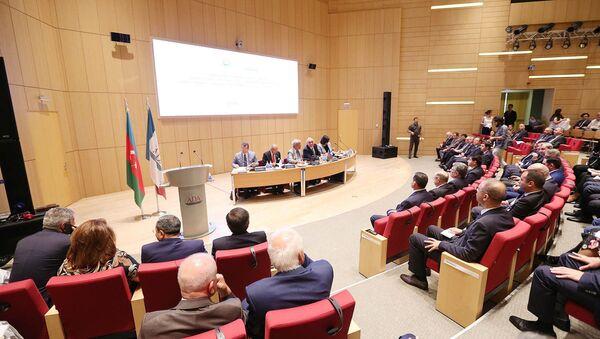 Конференция на тему 100-летие органов дипломатической службы Азербайджана - Sputnik Азербайджан