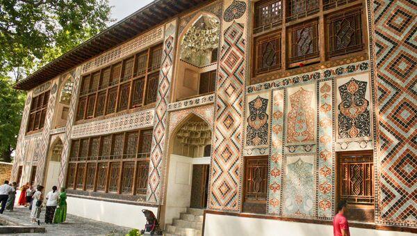 Şəki xan sarayı hal-hazırda muzey kimi fəaliyyət göstərir - Sputnik Azərbaycan