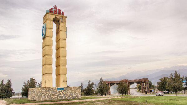 Şəki şəhərinə giriş - Sputnik Азербайджан