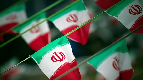 İran bayrağı, arxiv şəkli - Sputnik Azərbaycan