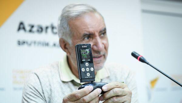 Председатель Союза свободных потребителей Эйюб Гусейнов - Sputnik Азербайджан