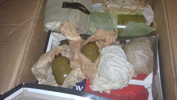 На старом рынке саперы Нацагентства обнаружили тысячи патронов и гранат - Sputnik Азербайджан