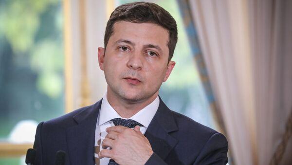 Ukrayna Prezidenti Vladimir Zelenski - Sputnik Azərbaycan