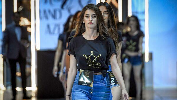 Miss & Mister Grand Azerbaijan 2019 müsabiqəsinin finalı - Sputnik Azərbaycan